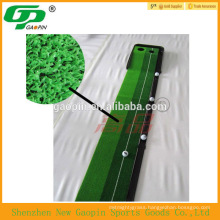 High quality indoor plastic base golf practice /putting mat , factory price
