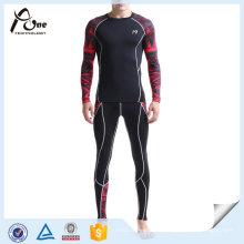 Custom Gym Wear Sublimation Vente en gros de vêtements de sport pour hommes