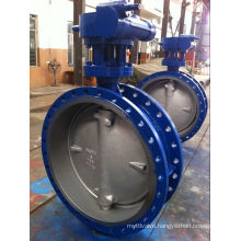 Dn900 Pn16 Triple Offset Metal-Seated Butterfly Valve