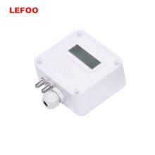 LEFOO LFM11 Differential Pressure Transmitter HVAC Duct Vacuum Cleanroom 4-20 ma smart pressure transmitter