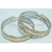 Bracelet bracelet en bijoux en acier inoxydable plaqué or