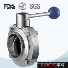 Сварной клапан-бабочка из нержавеющей стали (JN-BV1007)