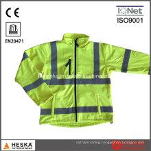 TPU Waterproof Fleece Wear Reflective Safety Jacket