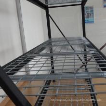 Almacén sistema de almacenamiento industrial estantería