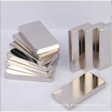 Постоянный мощный мощный прямоугольный неодимовый магнит