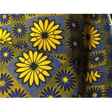 African Hollandaise New Design 100% coton en gros Tissu Ankara
