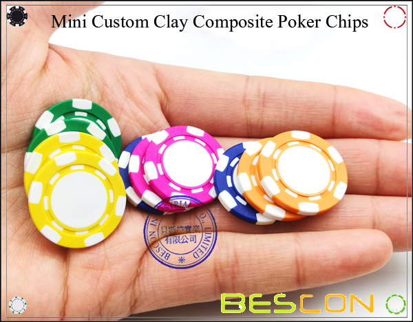 Bescon New Style Clay Chip with Custom Sticker-15