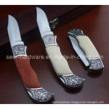 """7.2"""" Wood Handle Domestic Knife (SE-102)"""