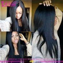 Дешевые Бразильянина 100% шелковый топ человеческих волос парик бесклеевой кружева перед парик с Шелковый Топ