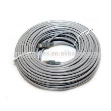Câble de connexion à câble haute vitesse 50w Cat5e UTP 24AWG rw45 à haute vitesse