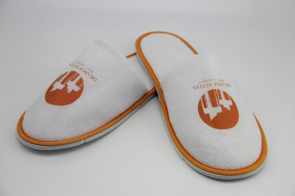 Luxury Hotel Spa Slippers Disposable Terry Cloth