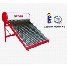 Chauffe-eau solaire Tube sous vide non pressurisé (SPC)