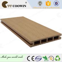 Bom preço de plástico composto de madeira decks exterior aminnatie pavimentação