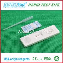Cartão de teste de gravidez HCG