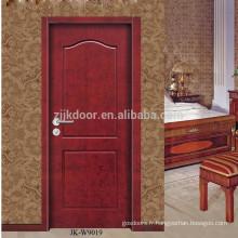 JK-W9019 Peinture en bois MDF porte d'intérieur