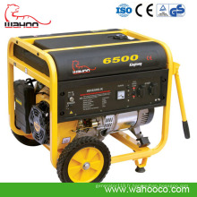 Nouveau Générateur d'essence de la puissance 5ahw Wahoo de la nouvelle technologie CE (WH6500)