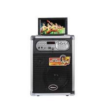 "7"" LCD MP5 Bluetooth Mini Portable Multimedia Speaker"