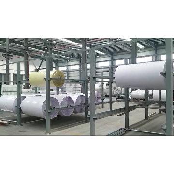 Rolo de tecido de algodão puro em branco para impressão digital