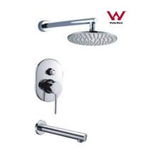 Design moderno rodada Misturador do chuveiro torneira do banheiro (CP-F0420-1)