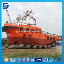China Supplier Rubber Marine Airbag For Ship Launching Heavy Upgrading