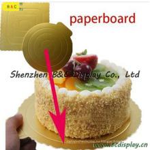 Неподдельное полезные мини с золотой Цвет торт пластины с FDA, SGS в (B и C-K046)