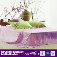 ЭКО-дружественных хлопка роскошной гостиницы крышки duvet,одеяло охватывает набор Королева Размер