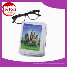 Chiffon d'essuyage de lunettes d'approvisionnement d'usine pour le nettoyage des lunettes