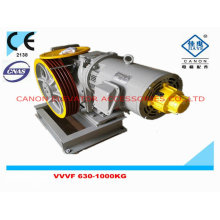 Máquina de tração de cânone de VVVF elevador de 500-800KG