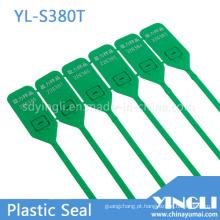 Puxe a etiqueta de vedação de plástico personalizada e descartável apertada (YL-S380T)