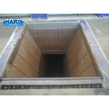 Hardfacing Overlay Receiving Hopper