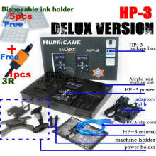 Delux Version ouragan HP-3 tatouage alimentation
