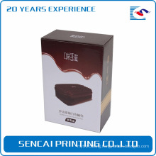 Sencai popular traveling bag packaging paper box