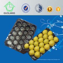 Производитель Китай Термоформованные блистер Перфорированный пластиковый транспортный сотовой лоток для упаковки пищевых продуктов промышленного использования