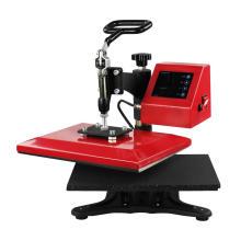Manual Digital Swing Away Mix Heat Press Tshirt Maker Screen Printing Machine