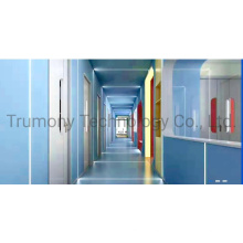 Nano Antibacterial ACP Aluminum Composite Panels for Outer Building Curtain Wall Cladding