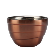 Stainless Steel Double Wall Mini Bowl
