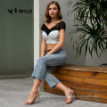 Weixin Shein Apparel Fashion Black Chiffon Backless Women Tops