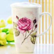 Bela Porcelana Gift Cup Copa China Estilo Cerâmica