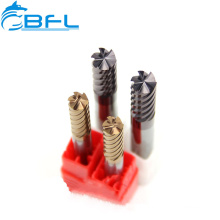 BFL CNC Solid Carbide 6 Flute Finishing Formed Milling Cutter