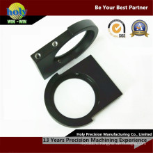 Qualified Maker CNC Optical Components with Black Anodized Aluminum