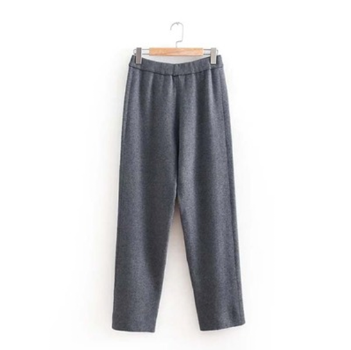 Knitted Straight Leg Pants