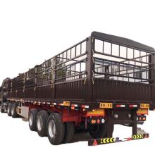 Dreiachsiger Warehouse Box Van Fence Sattelauflieger