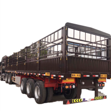 Tri-axle Warehouse Box Van Fence Semi Trailer