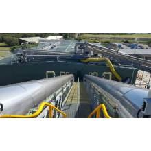Bio Solids Belt Conveyor