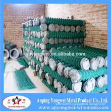 YW-2015 anping PVC Coated Garden Fence Chain Link Netting