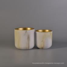China Glaze Ceramic Cup Paint Candle Jars Wholesale