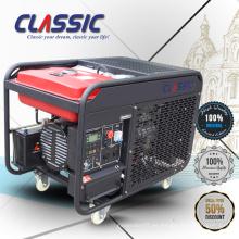 CLASSIC (CHINA) Generador Diesel Enfriado por Aire Precio 10kw, Confiable 12.5 kva Generador Diesel, Generadores Diesel 380 voltios Portable