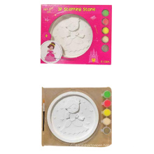 washable coloring plaster toys