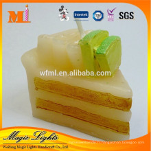 Bougie de décoration en forme de gâteau