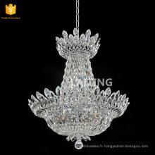 Chrome finition claire K9 cristal haute qualité lustres de cristal Fabriqué en Chine 71159